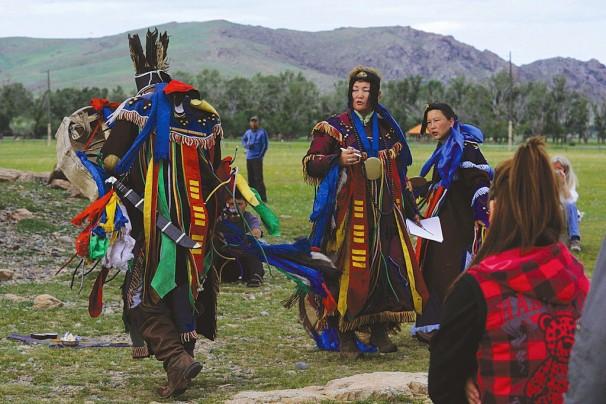 Schamanen der Mongolei