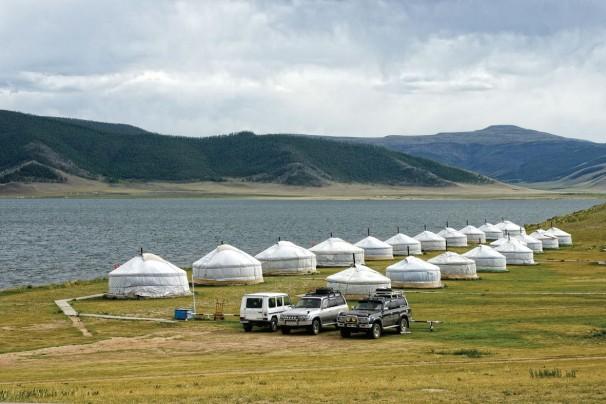 Camp am Weißen See