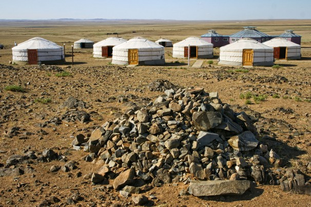 Camp in Baga Gazriin Tschuluu