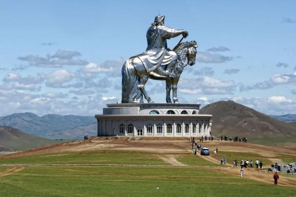 Dschingis Khan Denkmal