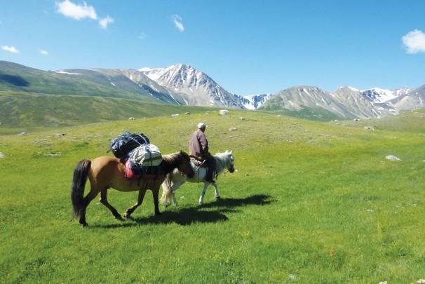 Im Nationalpark Altai Tavan Bogd