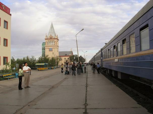 Letzter Bahnhof in der Mongolei