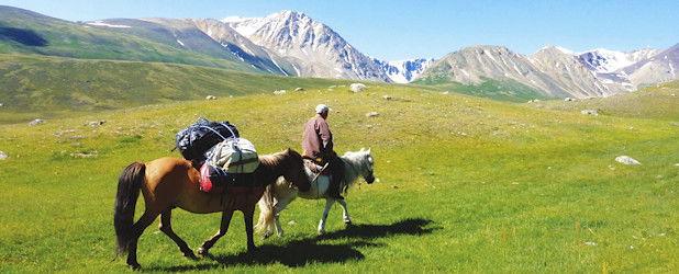 Reit- und Wandertour im Altaigebirge (18 Tage)