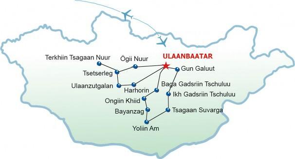 Jeep-Safari und Naadam