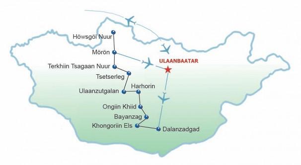 Route Karawanweg