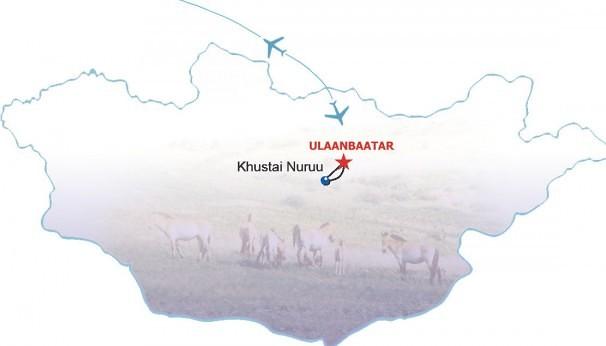 Route Khustai Nuruu