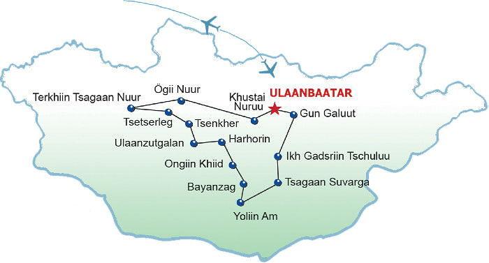 Route Naadam