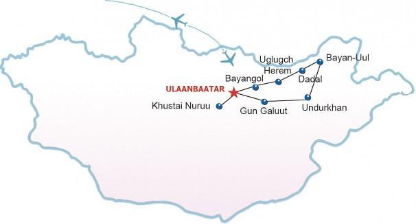 Route Schamanen