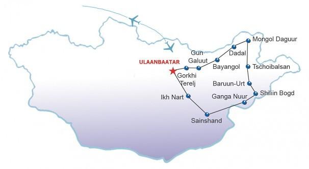 Route Vogelarten