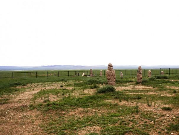 Türkische Grabstätte