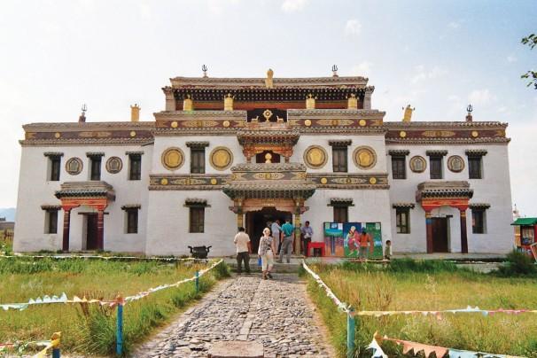Tempel Lavrin bei Erdene Zuu