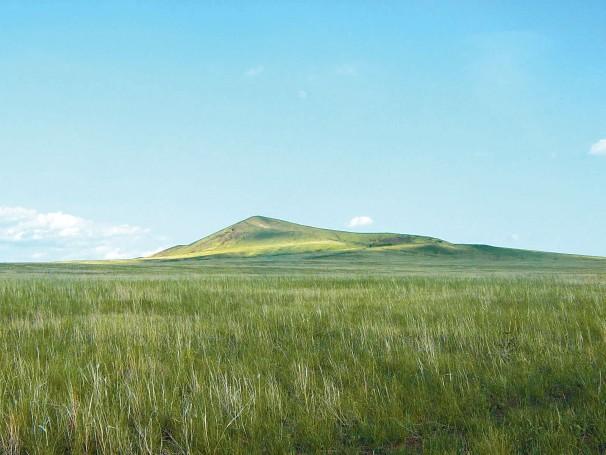 Vulkankrater Shiliin Bogd