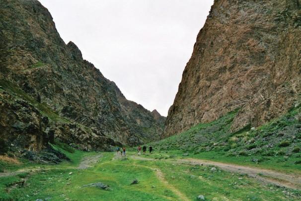 Wanderung  in der Geierschlucht